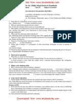 CBSE Class 9 Economics - Revision