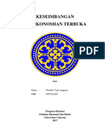 Keseimbangan Perekonomian Terbuaka.docx