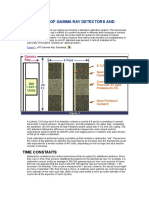 Calibration of Gamma Ray Detectors and Logs