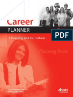 Career Planner - Choosing an Occupation