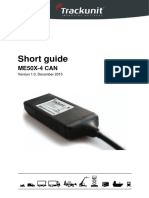 Trackunit 50X CAN Short Guide v1.0EN