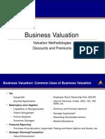 Business Valuation Presentation