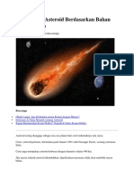 Af a 4 Klasifikasi Asteroid Berdasarkan Bahan Penyusunnya