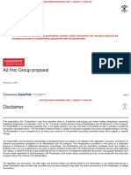 OEC - Ad Hoc Group Proposal