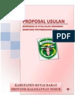 Ok Proposal Semenisasi Jembatan Ulin Penyinggahan Ulu