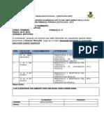 Cronograma de Remediales PRIMERO C