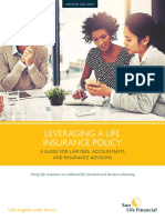 LEVERAGING A LIFE INSURANCE POLICY A GUIDE FOR LAWYERS, ACCOUNTANTS AND INSURANCE ADVISORS.pdf