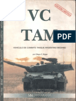 Vehiculos Blindados Del Ejercito Argentino 1 - VC TAM. Vehiculo de Combate Tanque Argentino Mediano