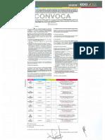 Convocatoria para el  ingreso a UPN para el ciclo escolar 2019 - 2020 para  Licenciatura