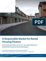 A Responsible Market for Rental Housing Finance