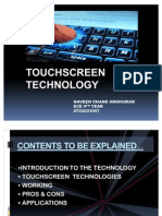 Touchscreen Ppt 2010