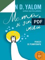 Irvin D. Yalom - Mama Si Sensul Vietii