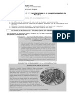 17. Características de La Conquista de América