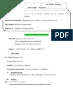 Compréhension d l'ÉcritP2 1as