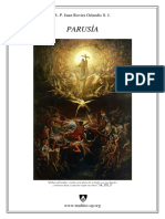 Parusia, por el R.P. Juan Rovira Orlandis SJ