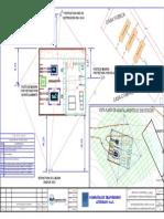 Oe-se01-018 Plano de Apantallamiento Cable de Guarda Vista Planta-Apant Vista Planta