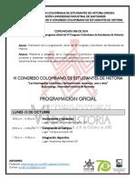 Borrador de Acuerdo Programa Historia Plan de Estudios 2