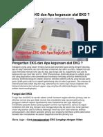 Pengertian EKG dan Apa kegunaan alat EKG.docx