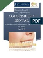 Colorimetro Dental