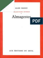 Badiou, Alain - Almagestes