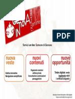 Guida ai servizi online del comune di Genova