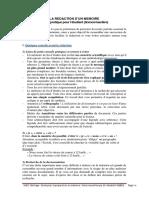 Guide Rédaction PFE, Mr. Abdellatif Abbes