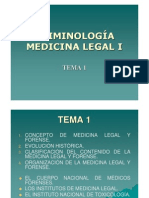 Criminolog a - Medicina Legal