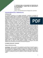 El Modelo de Black y Scholes Para La Evaluación de Proyectos de Inversión