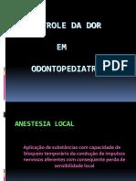 Aula Controle Da Dor 2017-1
