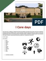 "Programma ""I Care Days"" 2019"