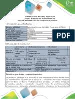 Guía Para El Desarrollo Del Componente Práctico -Salida de Campo