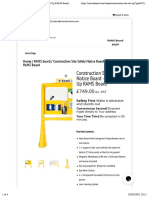 Construction Site Safety Notice Board – Site Set Up RAMS Board | RAMS boards.pdf