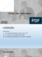 Leadership Authentique