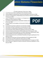 Marco Normativo Sistema Financiero