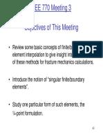 Lecture 3 Quarter Point 2D