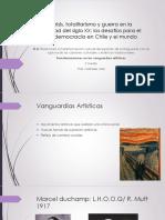 Vanguardias Artisticas y Medios de Comunicacion