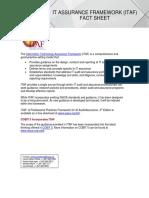 ITAF Fact Sheet 0318