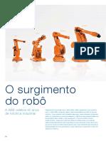 O Surgimento Do Robô. a ABB Celebra 40 Anos de Robótica Industrial