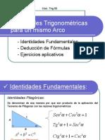 Identidades Trigonométricas Para Un Mismo Arco