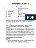 Silabo Método del Trabajo Universitario - Civil VSD.pdf