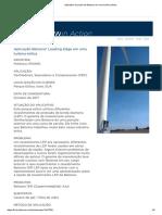 Aplicativo de Ponta Da Belzona Em Uma Turbina Eólica