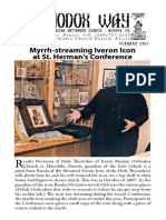 Myrrh-streaming Iveron Icon at St. Herman s Conference