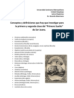 """Reactivos mitológicos en """"Primero sueño"""""""