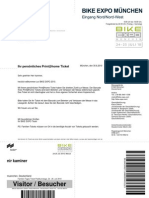 Bike Expo Ticket