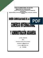 Diseño Curricular de Comercio Internacional Bolivia.pdf