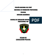 Legislación Policial 2018