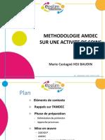 P3 Methodologie AMDECsur Une Activite de Soins