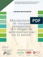 Folleto Divulgativo Manipulacion Cargas Prevencion Del Riesgo de Sobreesfuerzos