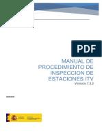 Manual de Procedimiento de Inspeccion de Estaciones ITV_v732