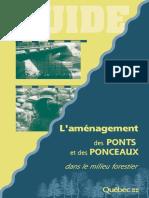 Amenagement Ponts Et Ponceaux